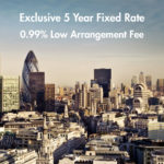 New Exclusive 5 Year Fixed Rate & Low Arrangement Fee